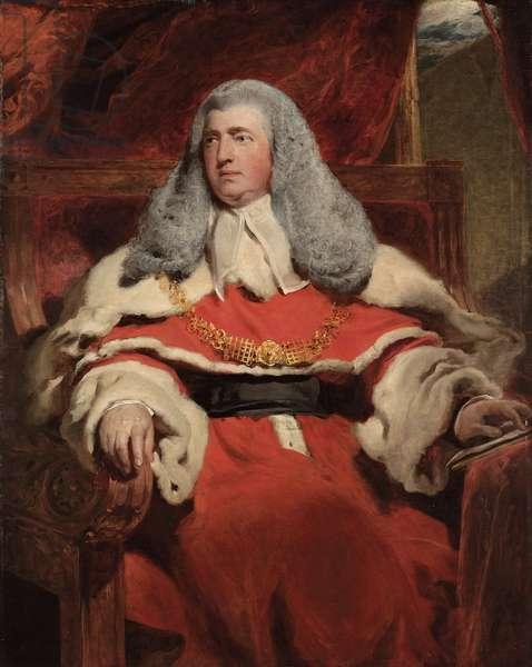 Portrait of Edward Law, 1st Baron Ellenborough, M.P. (oil on canvas)