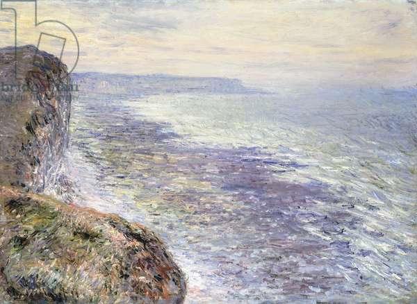 The Sea near Fecamp; Pres de Fecamp, Marine, 1881 (oil on canvas)