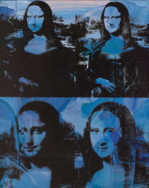 Mona Lisa, 1978 (synthetic polymer and silkscreen ink on canvas)