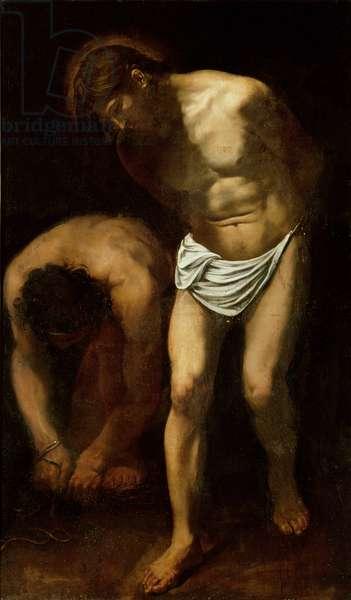 The Flagellation, c.1610 (oil on canvas)