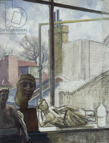 View from the Artist's Studio Window, 1929 (oil on canvas)