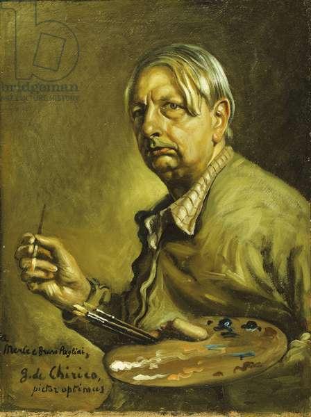 Self-portrait, 1950 (oil on masonite)