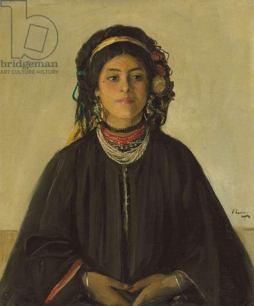 Aida, a Moorish Maid,  (oil on cavas)