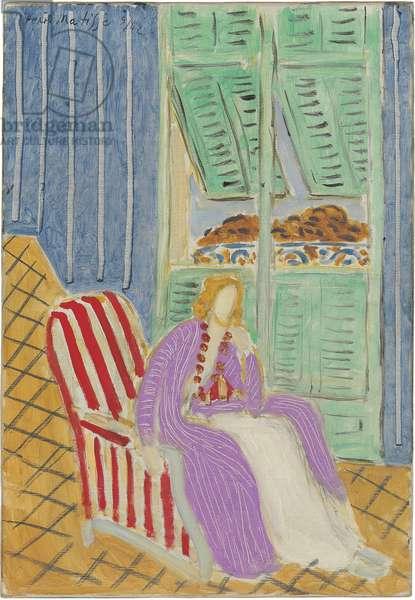 The Purple Dress, 1942 (oil on canvas)