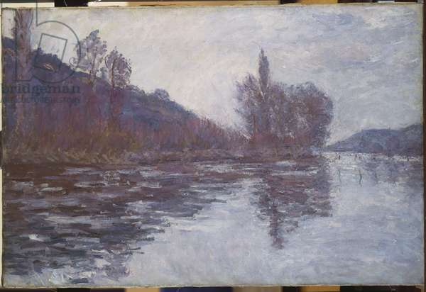 The Seine near Giverny, 1894 (oil on canvas)