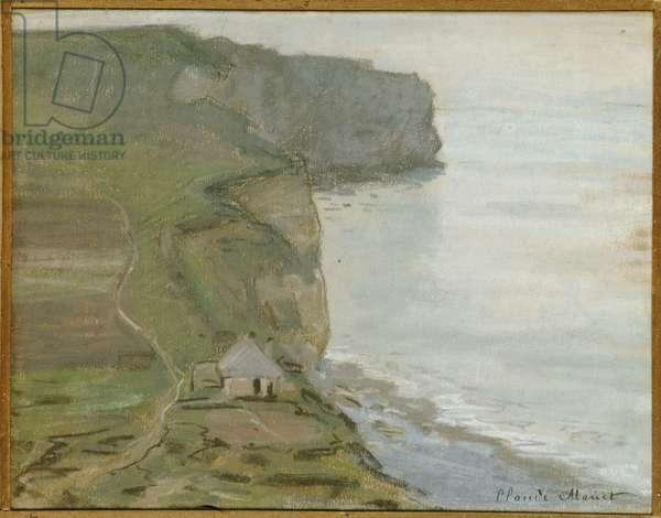 Cap d'Antifer, Etretat (oil on canvas)