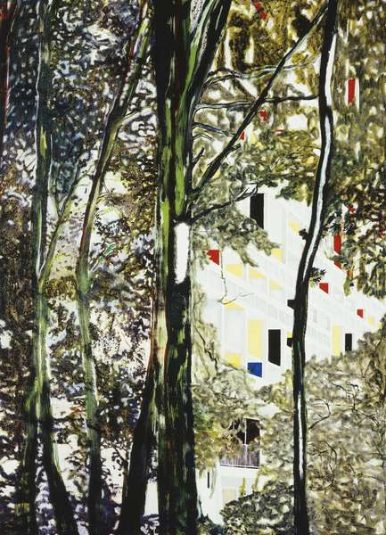 Briey (Concrete Cabin), 1994-95 (oil on canvas)