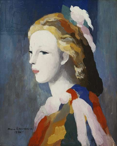 Francine Bessy, 1936 (oil on canvas)
