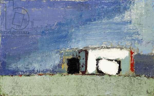Landscape; Paysage, 1953 (oil on canvas)