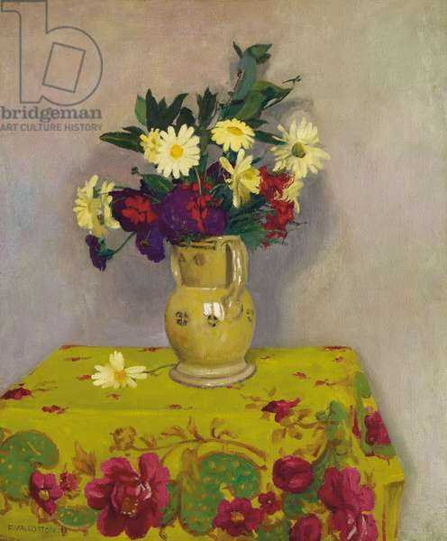 Yellow daisies and various flowers, 1911 (oil on canvas)