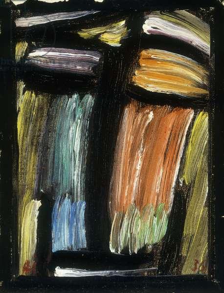 Meditation, 1936 (oil on canvas)
