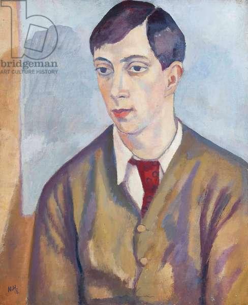Portrait of Edward Wolfe, 1918