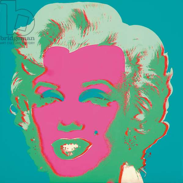 Marilyn Monroe (Marilyn), 1967 (screenprint) (see also 930711-20)