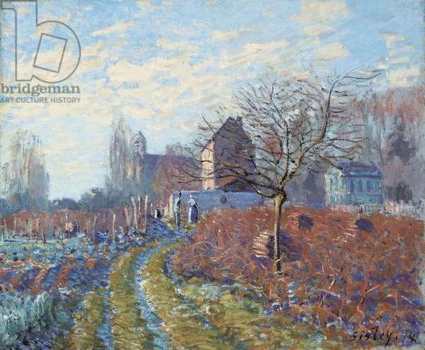 Gelee Blanche - Ete de la Saint-Martin, 1874 (oil on canvas)