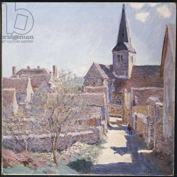 Bennecourt, 1885 (oil on canvas)