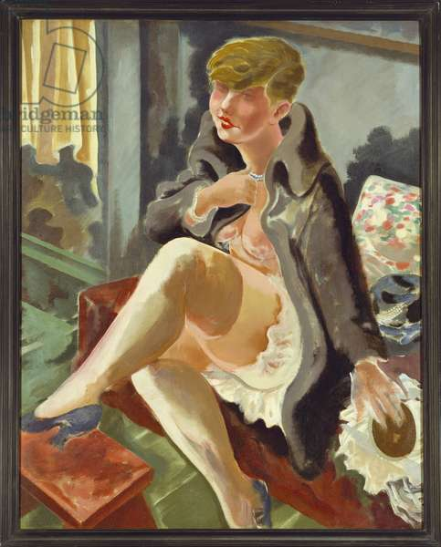 Seated Woman, 1926 (oil on canvas)