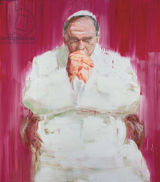 Pope, 2004 (oil on canvas)