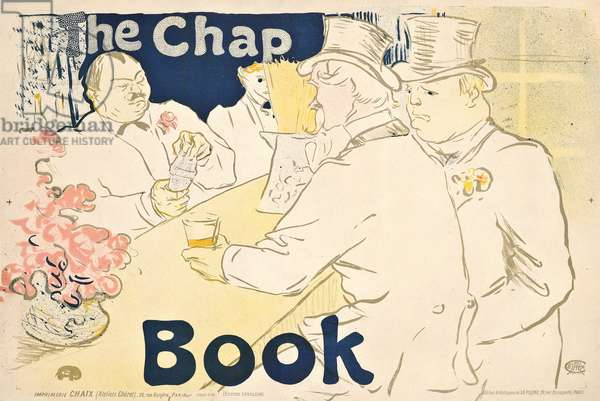 Irish and American Bar, Rue Royale- poster for 'The Chap Book', 1895 (colour lithograph)