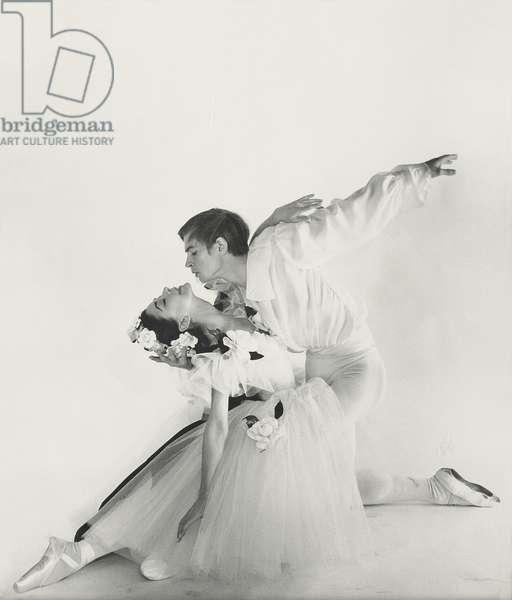 Rudolf Nureyev and Margot Fonteyn, c.1963 (gelatin silver print)