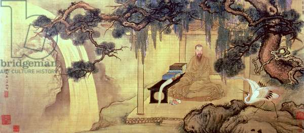 The Depiction of the Poet Wang Yuyang (1634-1711) (w/c)