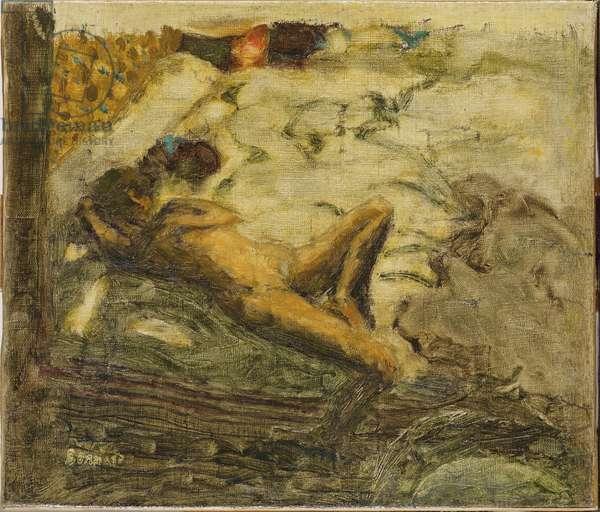 Preparatory sketch for L'Indolente, c.1899 (oil on canvas)
