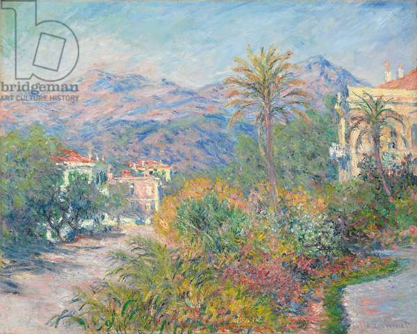 Roman Road at Bordighera; Strada Romana a Bordighera, 1884 (oil on canvas)