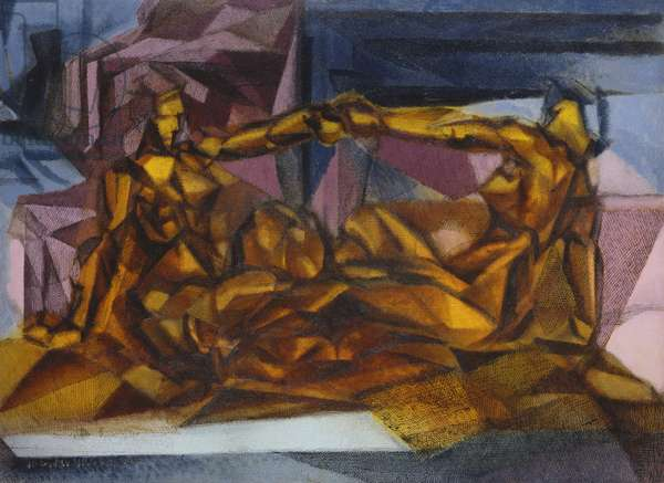 The Song, the Lovers, 1926 (oil on canvas)