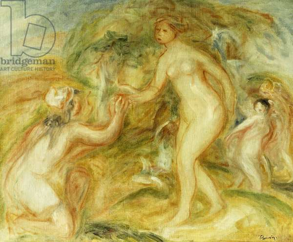 Sketch of the Judgement of Paris; Esquisse de Jugement de Paris, 1913 (oil on canvas)