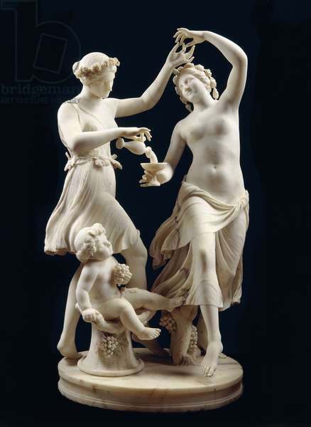 The Dancers,  (marble)