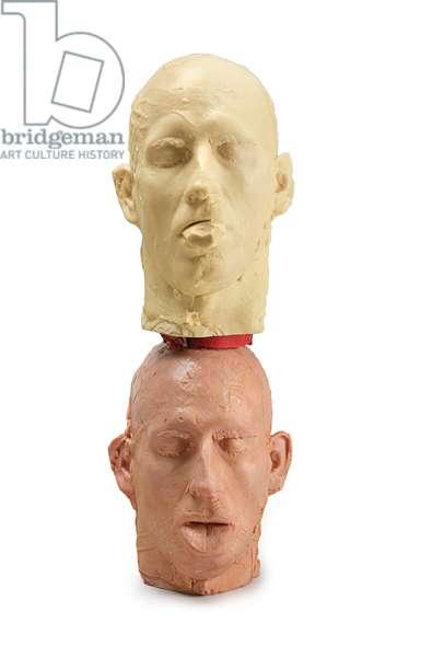 Andrew Head/Andrew Head, Stacked, 1990 (wax)