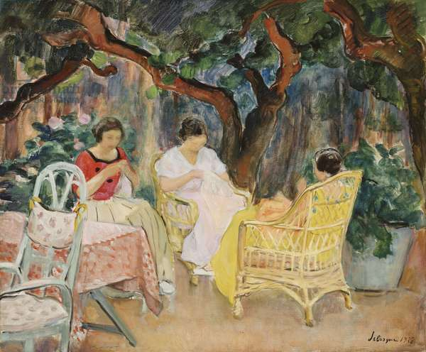 Afternoon; Apres-midi, 1923 (oil on canvas)