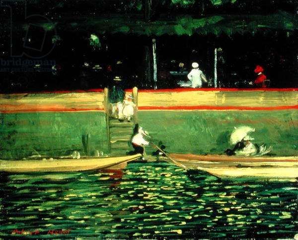 At Joinville (oil on canvas)