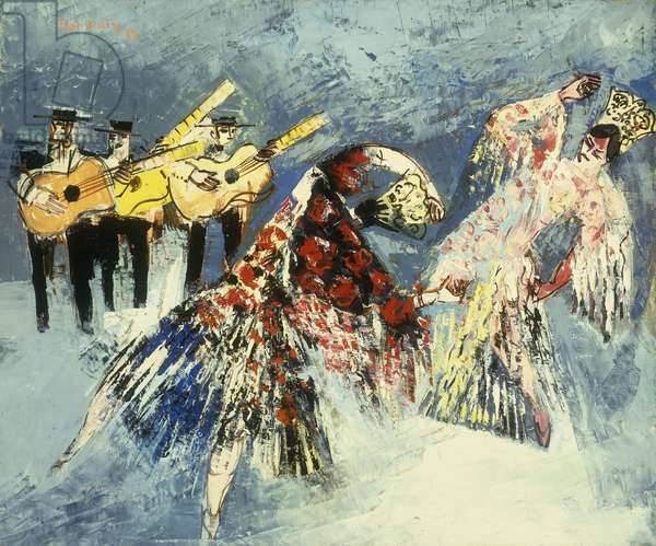 Spanish Dancers; Danseuses Espagnoles, 1929 (oil on canvas)