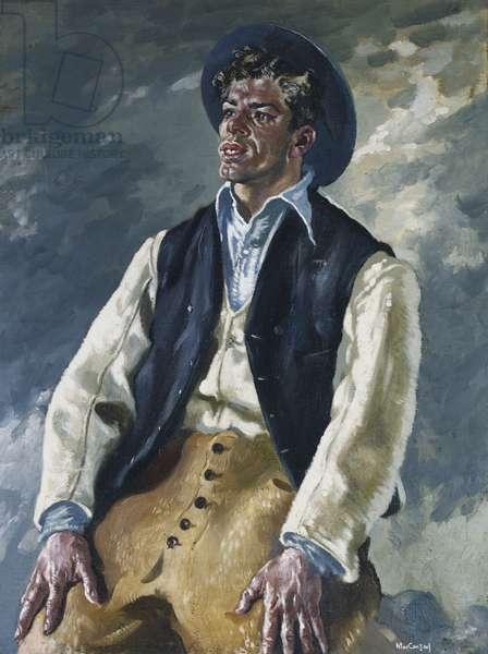 The Islander - An Fear Fiadain, 1947 (oil on canvas)