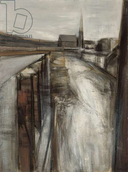 Cleared Space, Paddington, 1960 (oil on canvas)