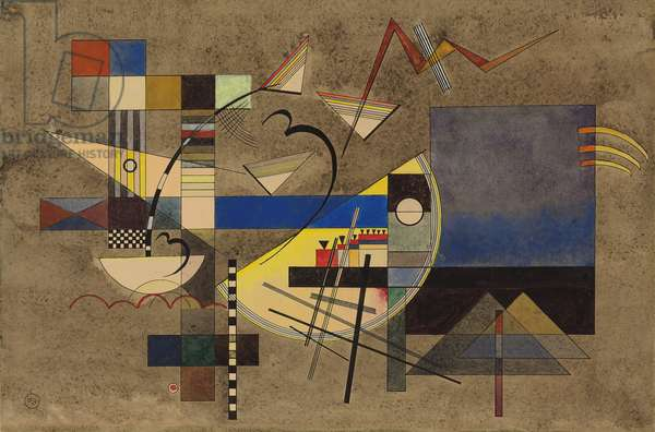 Solid III; Festes III, 1925 (gouache, watercolour, pen and ink on paper)