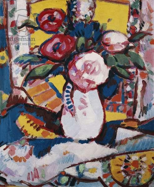 Bouquet de Fleurs, c. 1910 (oil on board)