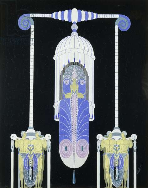Lespierreries, c.1929 (gouache on paper)