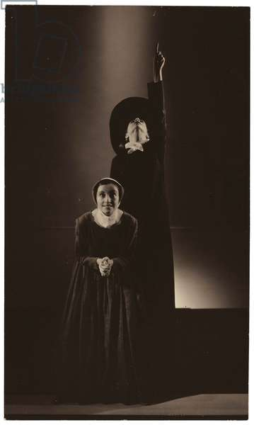 Doris Humphrey Dancers, for Vogue, November 9, 1932 (gelatin silver contact print)