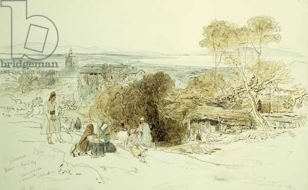 Camerino, 1849, 1849 (pen and brown ink and watercolour over pencil on paper)