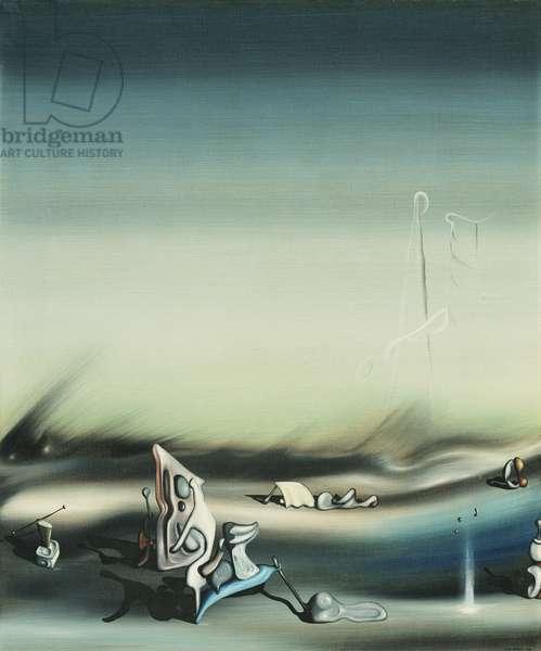 Surreal Landscape; Paysage Surrealiste, 1937 (oil on canvas)