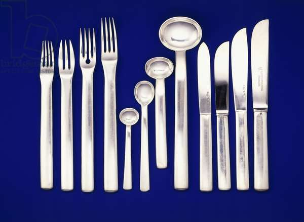 Silver flatware,  (stainless steel)