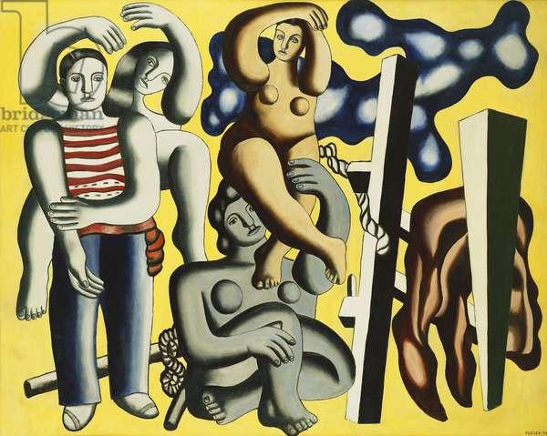 Acrobats (Parrots); Les Acrobates (Les Perroquets), 1933 (oil on canvas)