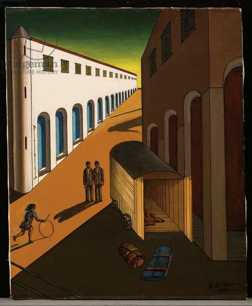 La Strada, 1959 (oil on canvas)