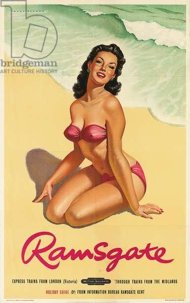 Ramsgate, poster advertising British Railways (colour litho)