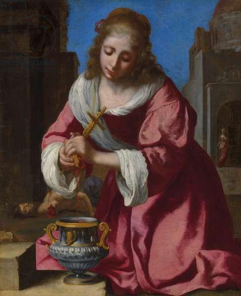 Saint Praxedis (oil on canvas)
