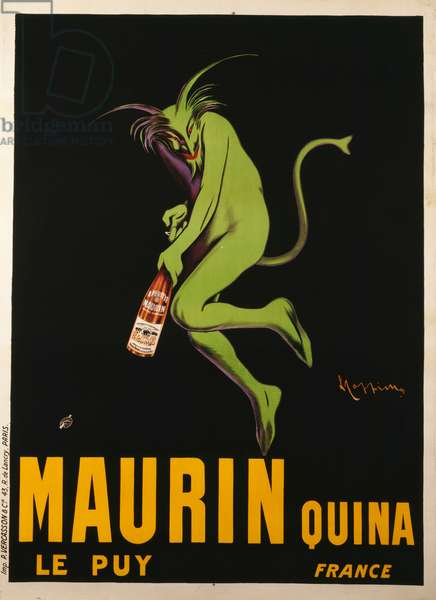 Maurin Quina, c.1922 (lithograph in colours)