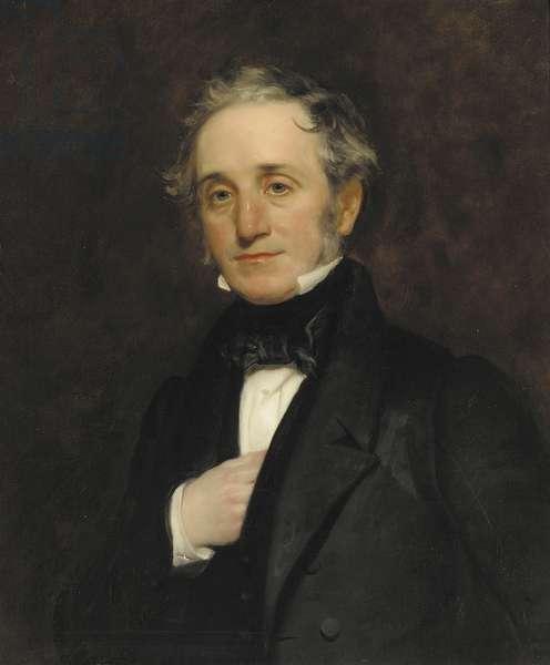Portrait of Thomas Cubitt (oil on canvas)