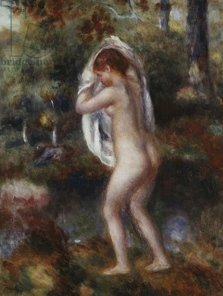Bather Undressing, 1897 (oil on canvas)