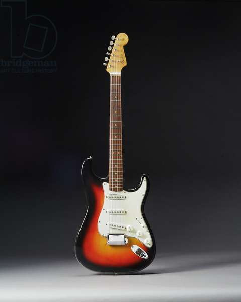 Fender Stratocaster electric guitar, 1964 (wood, metal & plastic)